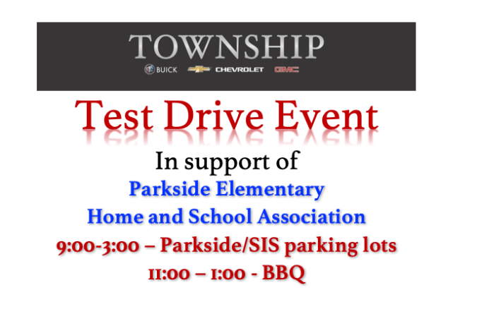 test drive flyer